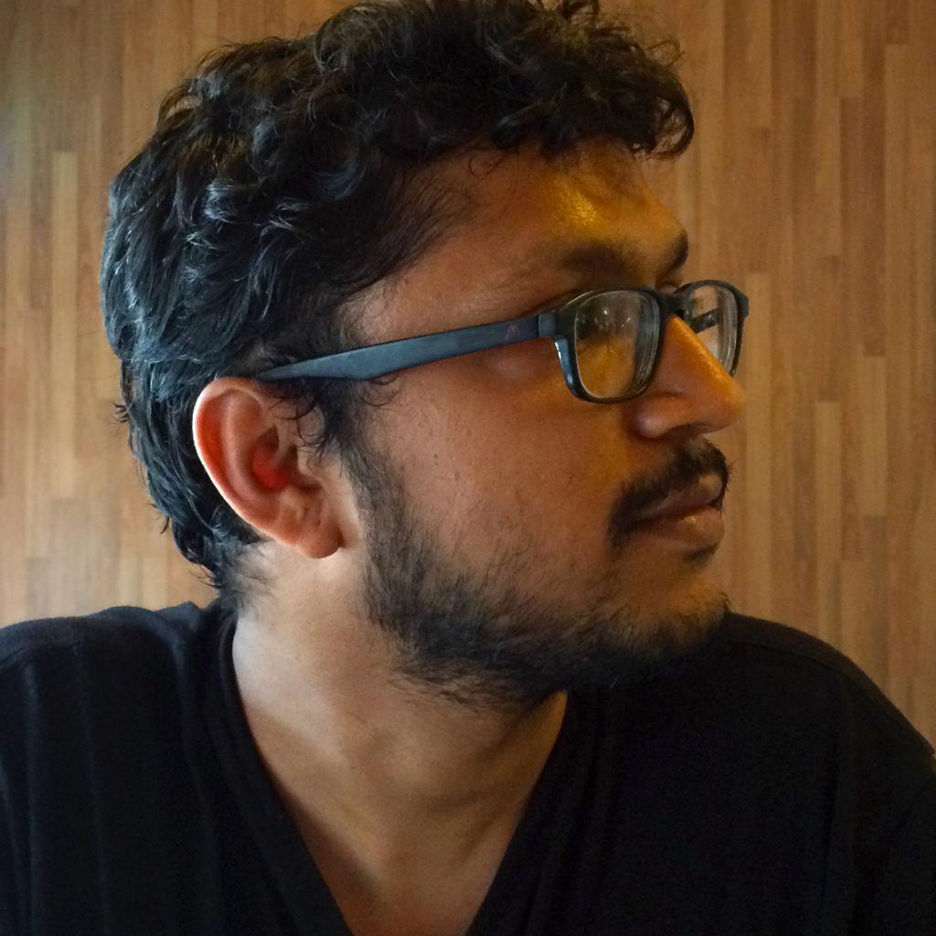 No Holds Bard letterer Aditya Bidikar